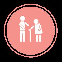 Logo service Ö la personne